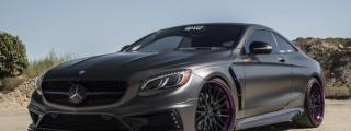 Dopeness: Satin Pearl Nero Mercedes S550 Coupe