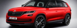 Rendering: Skoda Kodiaq RS and Monte Carlo