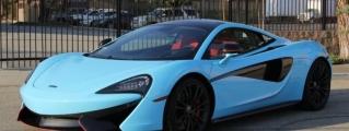 Sweeeet: Sky Blue McLaren 570S