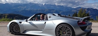 Up Close and Personal with Porsche 918 Spyder