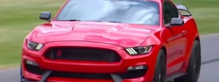 2015 Goodwood: Shelby GT350R and Former Stig