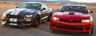 Shelby GT350R vs Camaro Z/28 - Ultimate Battle