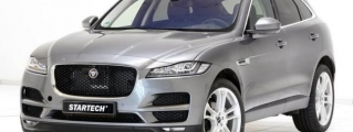 Startech Jaguar F-Pace Kicks Things Off with Wheels