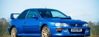 Rare Subaru Impreza 22B STi Goes Up for Auction