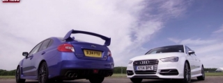 Sports Saloon Comparo: Subaru WRX STi vs Audi S3