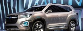 Subaru VIZIV-7 Concept Bows at L.A. Auto Show