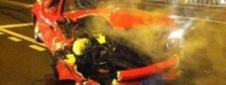 Rare Ferrari 575M Superamerica Destroyed in China