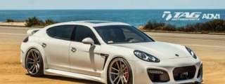 TAG Motorsport Porsche Panamera with Techart and ADV1