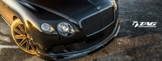 TAG Motorsports Bentley Continental GT with Vorsteiner Kit