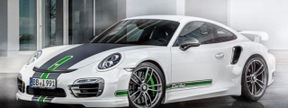 TECHART Porsche 911 Turbo Gets 580-hp Power Kit