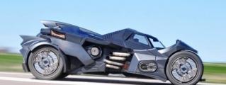 "Up Close with Team Galag ""Arkham Knight"" Batmobile"