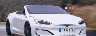 Rendering: Tesla Model S Convertible