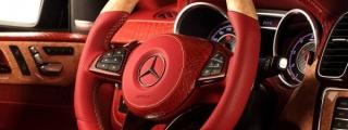 TopCar Mercedes GLE Inferno Gets Red Crocodile Interior