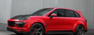 2015 TopCar Porsche Cayenne Vantage Returns in Red