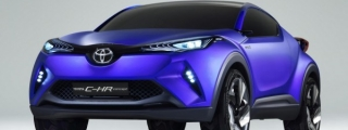 Paris Preview: Toyota C-HR Concept