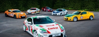 Toyota GT86 Honors its Racing Brethren with Classic Liveries