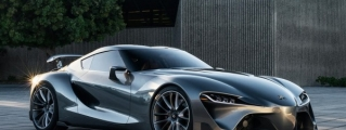 Toyota FT-1 Graphite Concept Revealed in Monterey