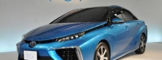 Official: Toyota Mirai Fuel Cell Vehicle