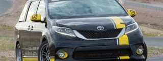 Toyota Sienna R-Tuned Outpaces a Camaro SS