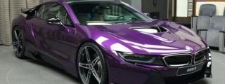 Gallery: Twilight Purple BMW i8