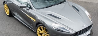Aston Martin Vanquish Volante 60th Anniversary Spotted for Sale