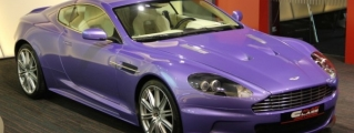 Eye Candy: Violet Aston Martin DBS