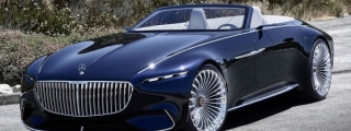 Official: Vision Mercedes-Maybach 6 Cabriolet