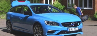 School Run in Volvo V60 Polestar, Jay Leno Style!
