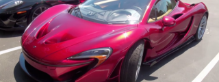 Sighs and Sounds: Volcano Red McLaren P1
