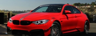 Vorsteiner BMW M4 GTRS4 Returns in Red
