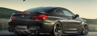 Vorsteiner BMW M6 with New GTS-V Spoiler