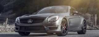 Vorsteiner Mercedes SL63 AMG Gets V-FF Wheels