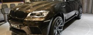 Vorsteiner BMW X6M at BMW Abu Dhabi