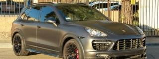 Vorsteiner Porsche Cayenne in Satin Pearl Nero