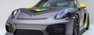 """Vorsteiner Porsche Cayman GT4 """"V-CS Aero"""""""