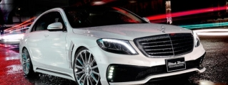 Official: Wald Mercedes S-Class W222 Black Bison