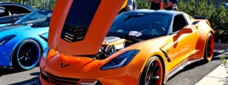 Custom Wide Body Corvette C7s from Washington