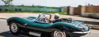 Jay Leno Reviews the new Jaguar XKSS