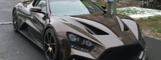 Zenvo ST1 Spotted in the Wild