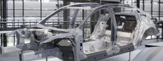 New Audi A8 Space Frame Revealed in First Teaser