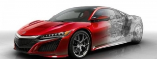 New Technical Details Revealed on Acura NSX