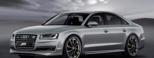 ABT Audi A8 Facelift Gets Tricked-Out