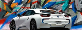 Matte White BMW i8 by Metro Wrapz