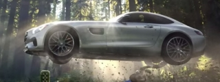 Mercedes AMG GT Super Bowl Commercial