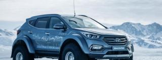 Hyundai Santa Fe Tackles Antarctica, Wins