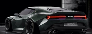 Rendering: Lamborghini Asterion Wide Body