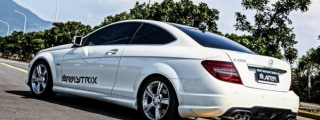 AMG-Style Armytrix Exhaust for Mercedes C-Class