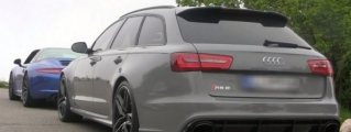 Sights and Sounds: Nardo Grey Audi RS6 with Custom Exhaust