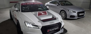 Audi TT Cup Revealed for One-Make Racing Series