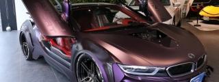 Eve.Ryn BMW i8 Dark Knight